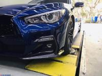 英菲尼迪Q50改装案例,有品味品质的追求,欧卡改装网,汽车改装