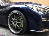 英菲尼迪Q50L改装,前杠+刹车+胎铃,欧卡改装网