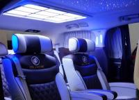 gl8商务车改装航空座椅柚木地板,欧卡改装网,汽车改装
