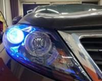 """起亚智跑改装大灯升级双光氙气大灯激光大灯打造真正的""""都市智先锋"""",欧卡改装网,汽车改装"""