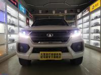 赤峰风骏7改装大灯总成升级双光氙气透镜日行大灯 夜间更安全,欧卡改装网,汽车改装