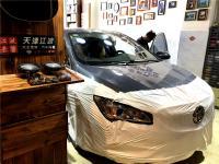 天津汽车音响改装别克威朗音响改装法国劲浪165AS隔音降噪,欧卡改装网,汽车改装