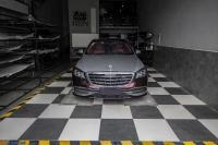 奔驰S450全车红色经典款升级定制,欧卡改装网,汽车改装