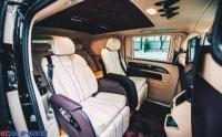 深圳威霆改装奔驰7座太空椅沙发床木地板个性私人订制,欧卡改装网,汽车改装