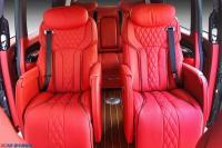 奔驰威霆改装外包围航空座椅沙发床木地板私人订制,欧卡改装网,汽车改装