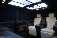 大众凯路威升级6座全隔断吧台个性定制升级不限车型,欧卡改装网,汽车改装