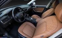 深圳改装奥迪A6L全车真皮包覆翻新通风私人订制,欧卡改装网