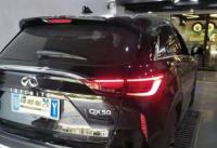 英菲尼迪QX50升级海外版LED尾灯,欧卡改装网,汽车改装