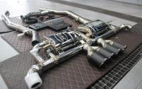 宝马X5改装Res中尾段阀门排气,欧卡改装网