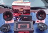 日产天籁改装德国斯洛琴喇叭+DSP,欧卡改装网,汽车改装