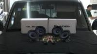 刚柔并济—三菱帕杰罗改装德国鼓动音响系统,欧卡改装网,汽车改装