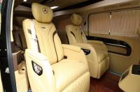 谁不喜奢华?奔驰V260升级内饰改装航空座椅案例,欧卡改装网