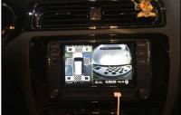 大众速腾加装黑剑360度全景行车记录仪,欧卡改装网
