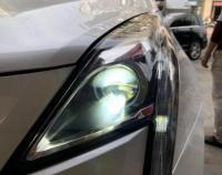 凯迪拉克XT5改装AZ LED双光透镜案例,欧卡改装网,汽车改装