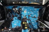 奔驰S500改装安博士隔音,欧卡改装网,汽车改装