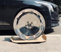 凯迪拉克CT6改装戴卡19寸锻造轮毂,欧卡改装网