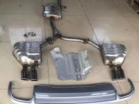 奥迪a4L改装S4四出静音排气,欧卡改装网,汽车改装