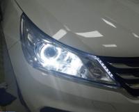 宝骏310改装升级LED透镜,欧卡改装网,汽车改装