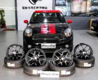 宝马MINI COOPER WORKS ALL4 改装18寸锻造轮毂,欧卡改装网,汽车改装