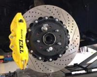 英菲尼迪Q60改装德国TEi Racing刹车,欧卡改装网,汽车改装