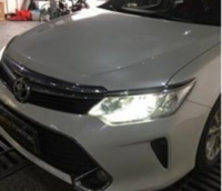 丰田凯美瑞改装海拉5+欧司朗酷蓝套装,欧卡改装网,汽车改装