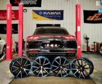 保时捷新Panamera轮毂改装万吨锻造轮毂,欧卡改装网,汽车改装