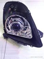 铃木雨燕升级车工场订制海拉5透镜大灯,欧卡改装网