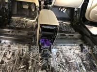 凯迪拉克XTS隔音改装STP隔音案例,欧卡改装网,汽车改装