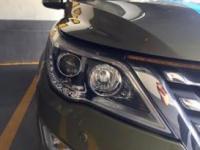 宝骏560灯光改装海拉五双光透镜作业,欧卡改装网,汽车改装