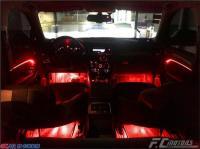 深圳奥迪Q5加装汽车氛围灯,欧卡改装网,汽车改装