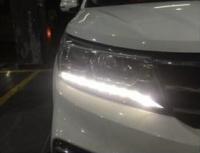 广州东风景逸X5车灯改装海拉五双光透镜+欧司朗酷蓝套装,欧卡改装网,汽车改装