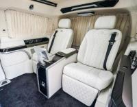 深圳奔驰V260L改装高顶对坐豪华商务房车,欧卡改装网