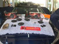 佛山日产天籁音响改装JBL CLUB6500C两分频喇叭,欧卡改装网,汽车改装