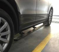 广州保时捷改装电动伸缩踏板案例,欧卡改装网,汽车改装