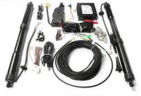 广州奥迪Q3改装原厂智能电动尾门作业,欧卡改装网,汽车改装
