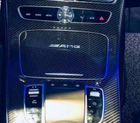 合肥奔驰E260内饰改装AMG碳纤维中控面板+AMG四出尾吼!,欧卡改装网,汽车改装