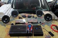 苏州长安CS95改装德国鼓动狮蕾zero pro165.2pp 套装喇叭,欧卡改装网,汽车改装