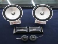 现代悦纳音响改装英国曼琴M2S61两分频套装喇叭,欧卡改装网,汽车改装