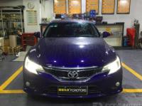 深圳丰田锐志车灯改装海拉5双光透镜+欧司朗D4S灯泡,欧卡改装网,汽车改装