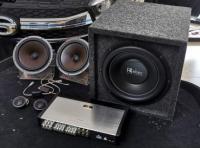 番禺传祺GS4音响改装全套雷贝琴音响案例,欧卡改装网,汽车改装