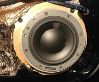 常州奥迪A6L汽车音响改装丹拿三分频喇叭案例,欧卡改装网,汽车改装