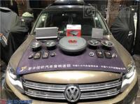 济南大众途观汽车音响改装史泰格两分频喇叭案例,欧卡改装网,汽车改装