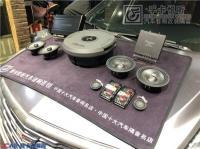 济南凯迪拉克XT5汽车音响改装史泰格车载喇叭案例,欧卡改装网,汽车改装