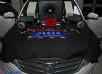 济南宝骏560汽车音响改装魔乐歌三分频喇叭+雷贝琴功放案例,欧卡改装网,汽车改装