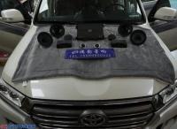 济南丰田陆巡汽车音响改装雷贝琴RV6.3三分频+魔乐歌A3两分频案例,欧卡改装网,汽车改装