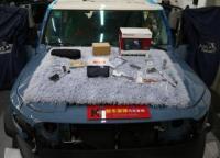 佛山丰田FJ酷路泽汽车音响改装JBL同轴喇叭+360度全车可视记录仪,欧卡改装网,汽车改装