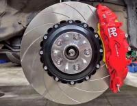 【雷克萨斯RX300刹车改装】升级AP9560大六刹车卡钳,欧卡改装网,汽车改装