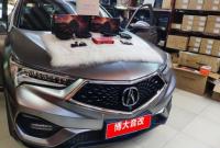 武汉讴歌CDX汽车音响改装JBL CLUB-6500C喇叭,欧卡改装网,汽车改装