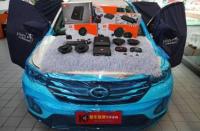 佛山传祺GS4音响改装JBL STADIUM GTO600C两分频,欧卡改装网,汽车改装
