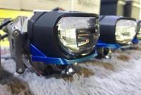 广州凯迪拉克XTS车灯改装激光大灯效果,欧卡改装网,汽车改装